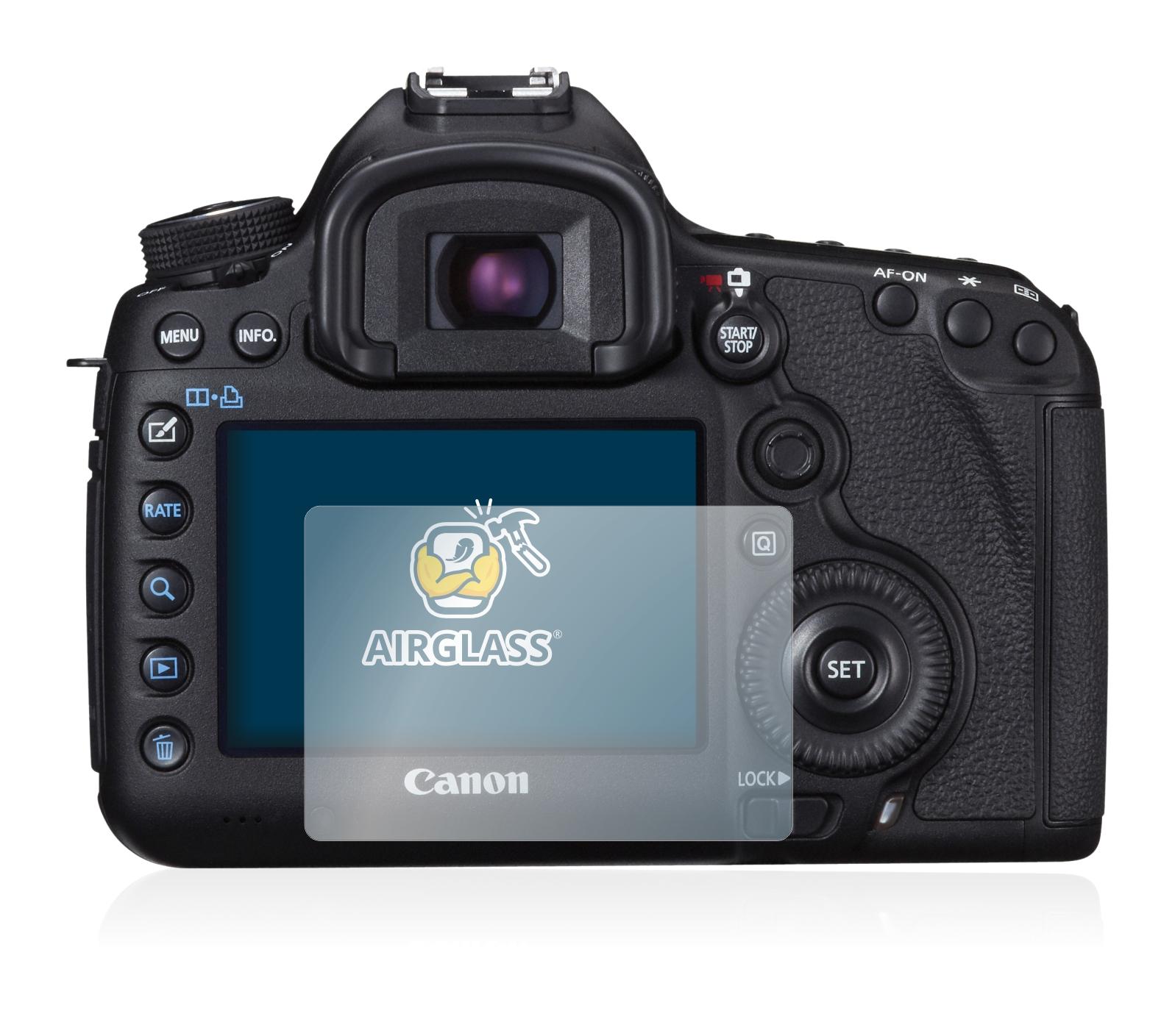 Protector Pantalla para Canon EOS 5D Mark II Cristal Mate Lámina de Vidrio