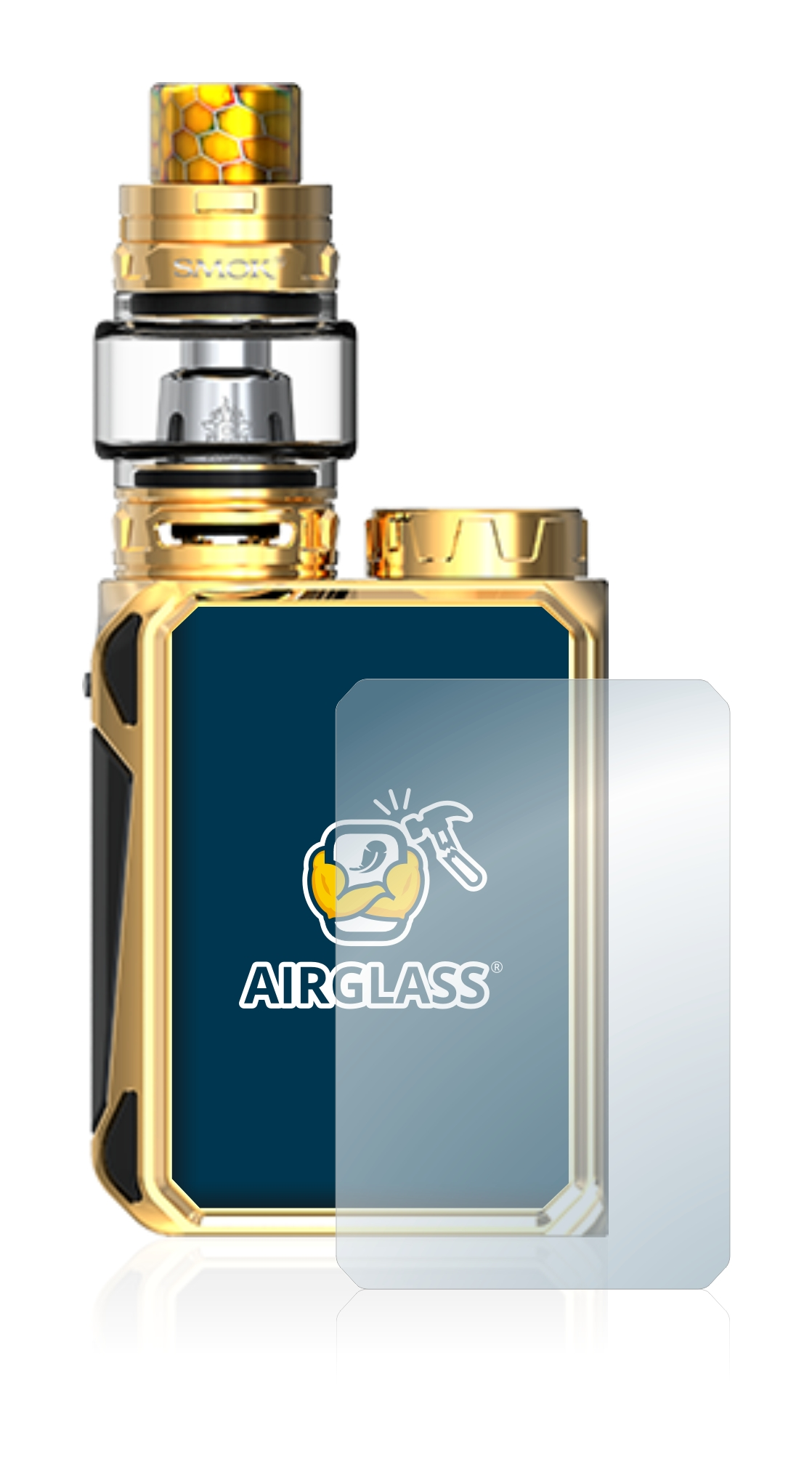 Extra-Hard Screen Guard Ultra-Light Bedifol BROTECT AirGlass Glass Screen Protector for Smok G-Priv Baby