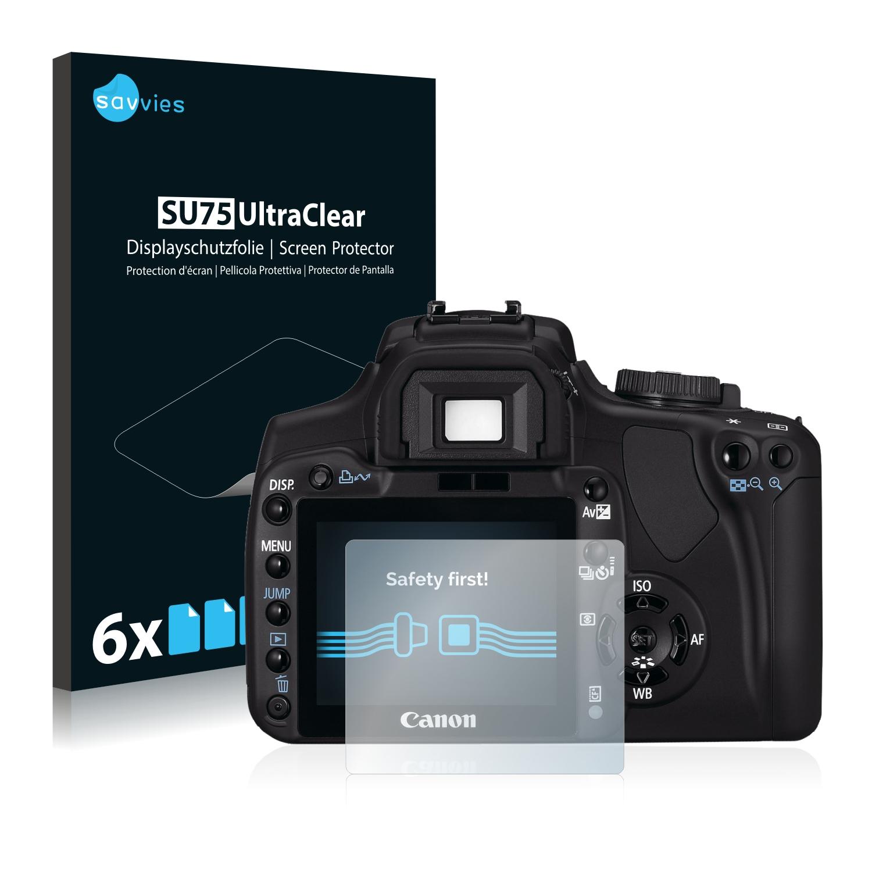 Ochranná fólie Savvies na Canon EOS 400D, 6ks