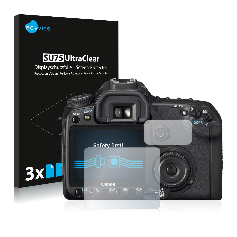 Ochranná fólie Savvies na Canon EOS 40D, 6ks