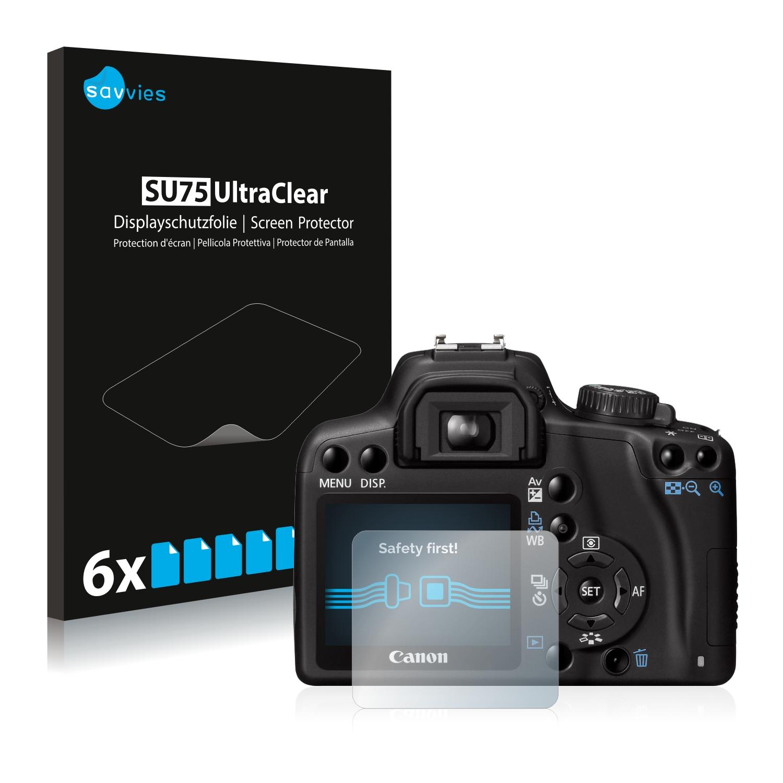 Ochranná fólie Savvies na Canon EOS 1000D, 6ks