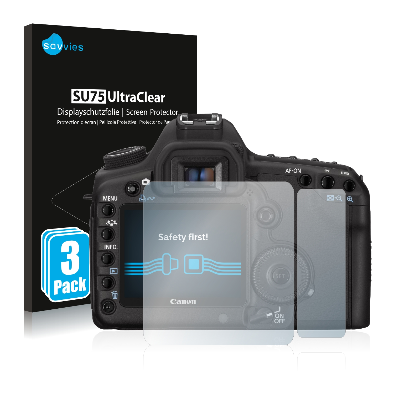 Ochranná fólie Savvies na Canon EOS 5D Mark II, 6ks