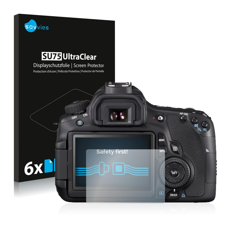 Ochranná fólie Savvies na Canon EOS 650D, 6ks