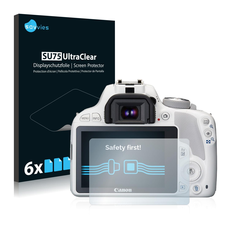 Ochranná fólie Savvies na Canon EOS 100D, 6ks