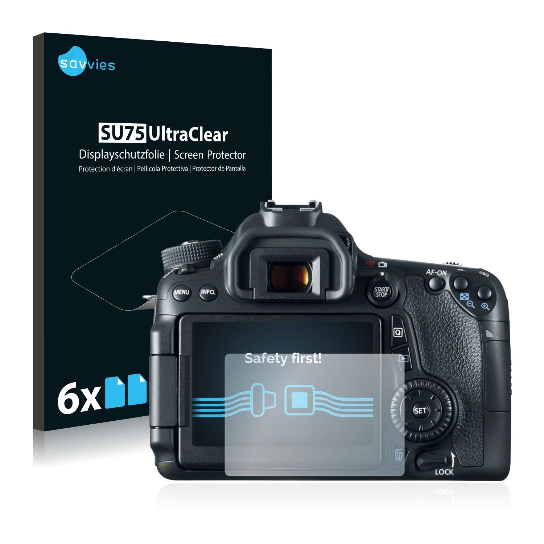 Ochranná fólie Savvies na Canon EOS 70D, 6ks