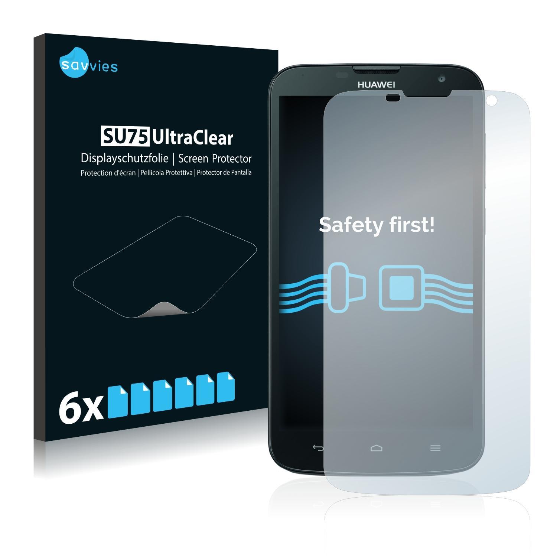 Ochranná fólie Savvies na Huawei Ascend G730, 6ks
