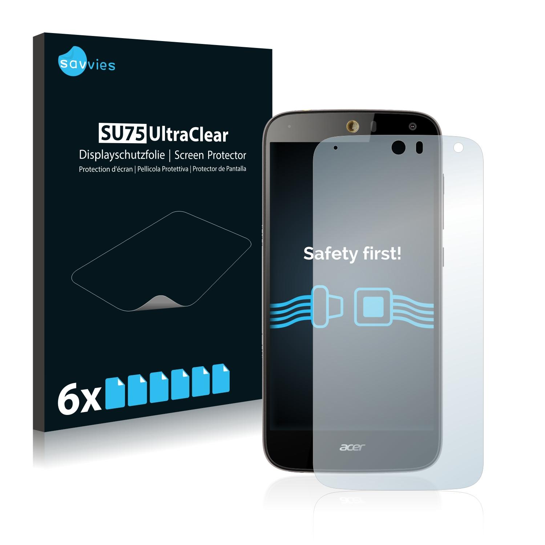 Ochranná fólie Savvies na Acer Liquid Z630S, 6ks