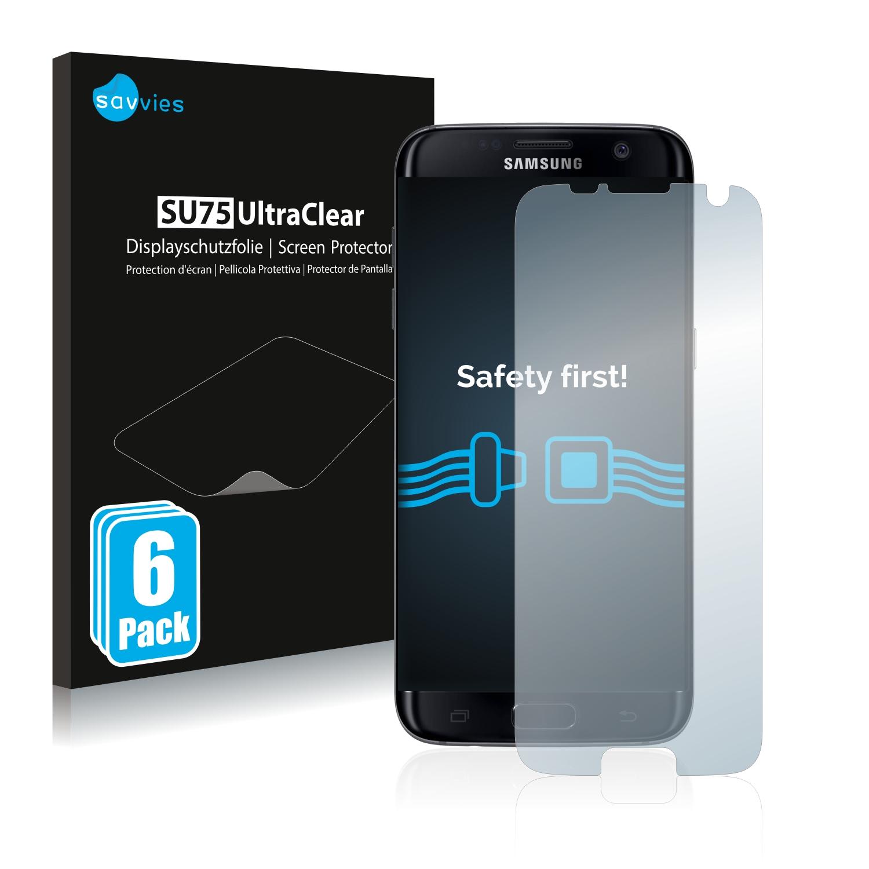 Ochranná fólie Savvies na Samsung Galaxy S7 Edge, 6ks