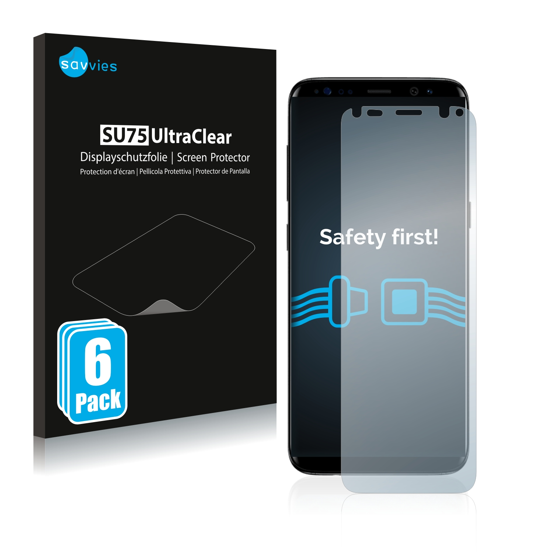 Ochranná fólie Savvies na Samsung Galaxy S8, 6ks