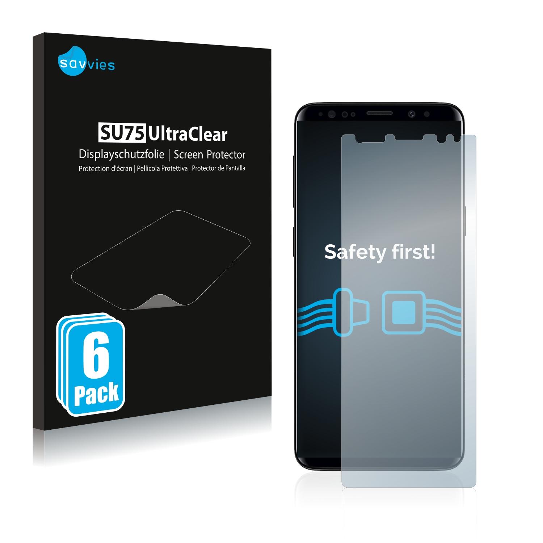 Ochranná fólie Savvies na Samsung Galaxy S9, 6ks