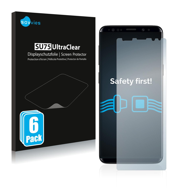 Ochranná fólie Savvies na Samsung Galaxy S9 Plus, 6ks
