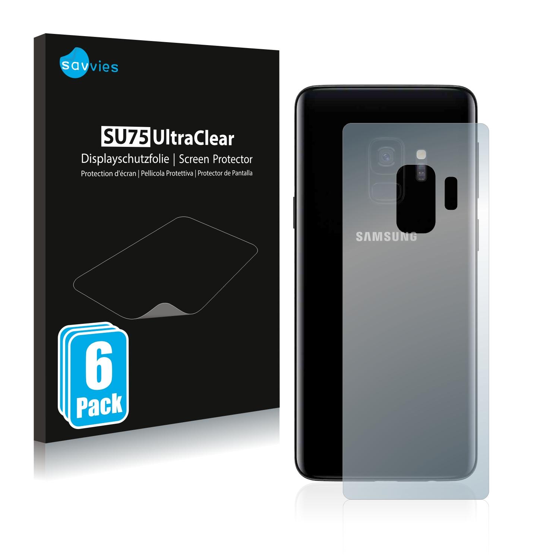 Ochranná fólie Savvies na Samsung Galaxy S9 (Zadní strana), 6ks