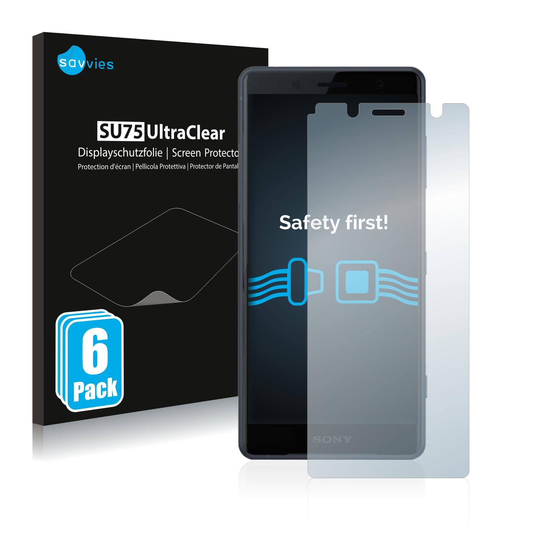 Ochranná fólie Savvies na Sony Xperia XZ2 Compact, 6ks