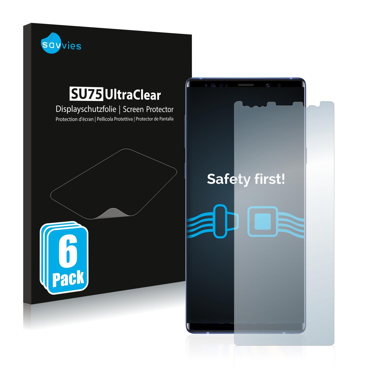 Ochranná fólie Savvies na Samsung Galaxy Note 9, 6ks