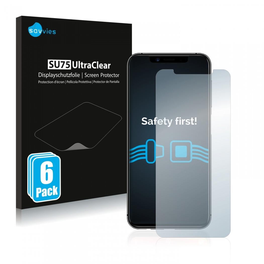 6x Savvies® Screen Protector for Umidigi One Pro