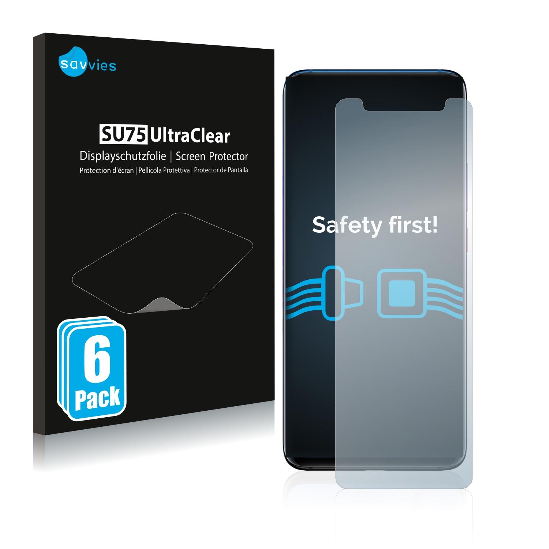 Ochranná fólie Savvies na Huawei Mate 20 Pro, 6ks