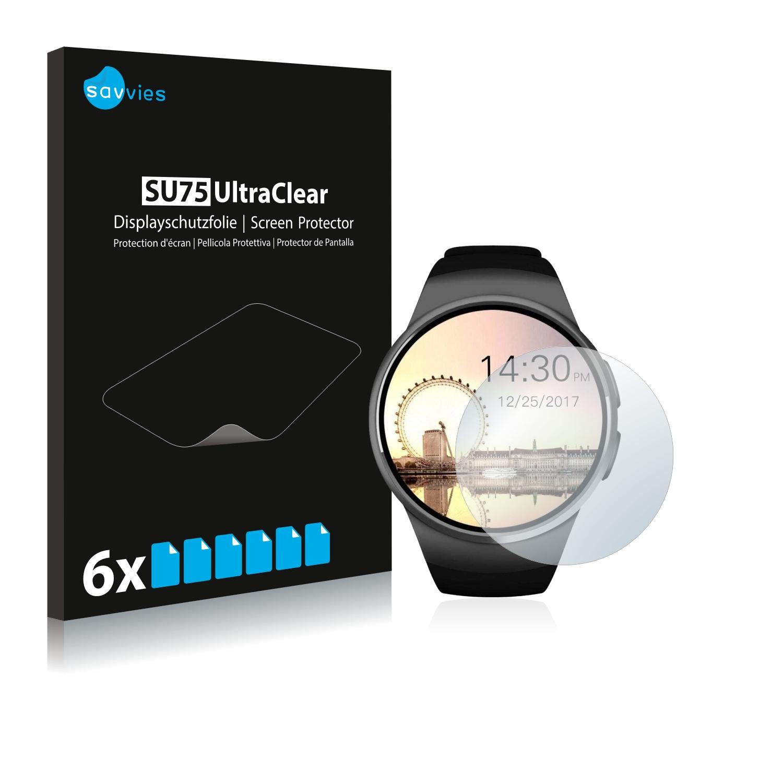 Ochranná fólie Savvies na Evershop Bluetooth Smartwatch (1.5), 6ks