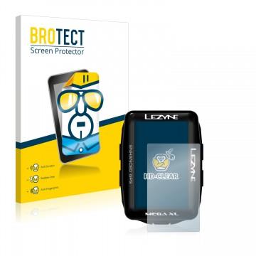 6x Lezyne Mega XL GPS Protection D/'écran Clair Film Protecteur écran Film