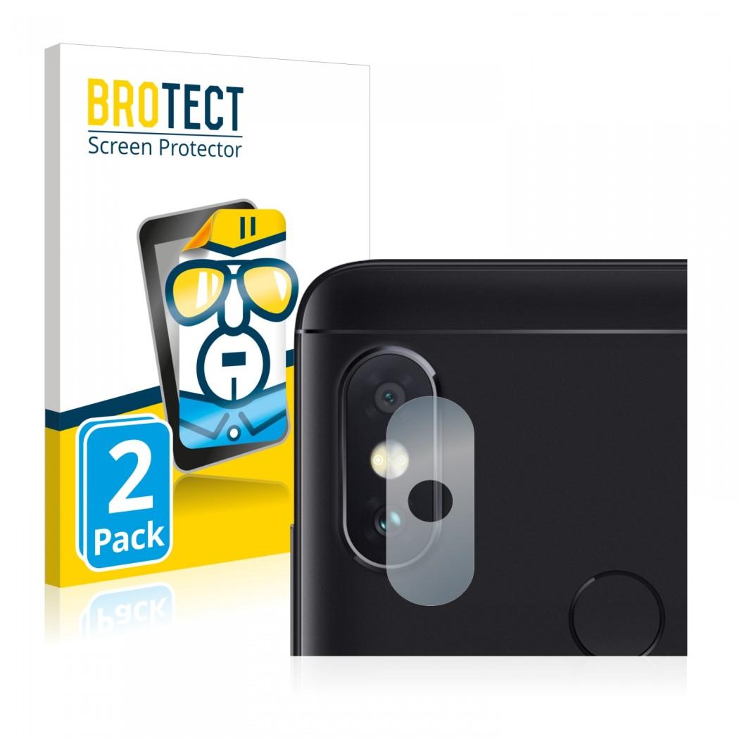 2x BROTECT® HD-Clear Screen Protector for Xiaomi Mi A2 Lite (Camera)