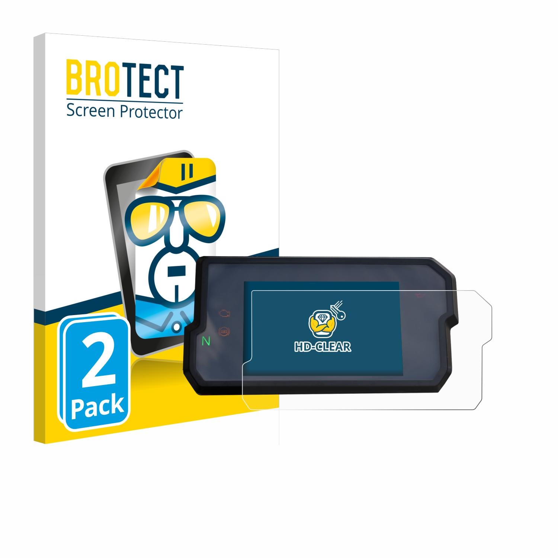 6x Displayschutzfolie für TomTom GO 5200 Schutzfolie Klar Folie Displayfolie