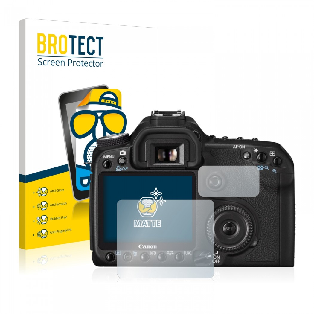 2x BROTECT® Matte Screen Protector for Canon EOS 50D