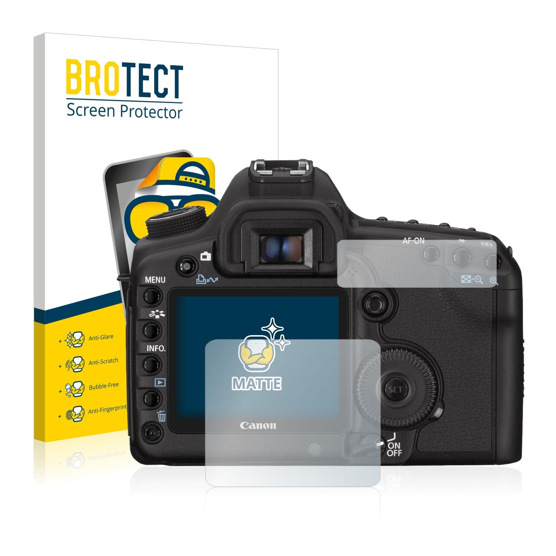 2x Canon Digital Ixus 510 HS Mate Protector De Pantalla Antirreflejo Película De Protección
