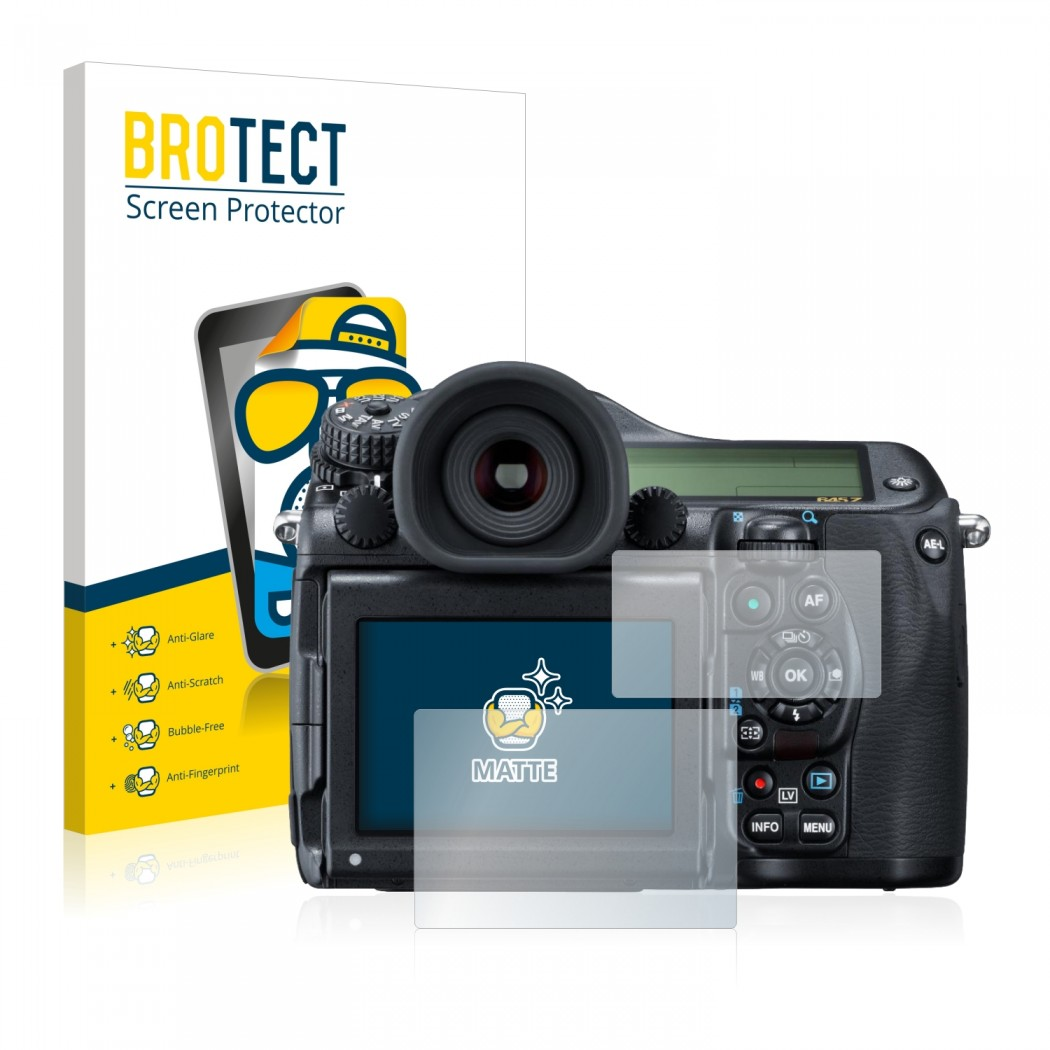 2x BROTECT® Matte Screen Protector for Pentax 645Z