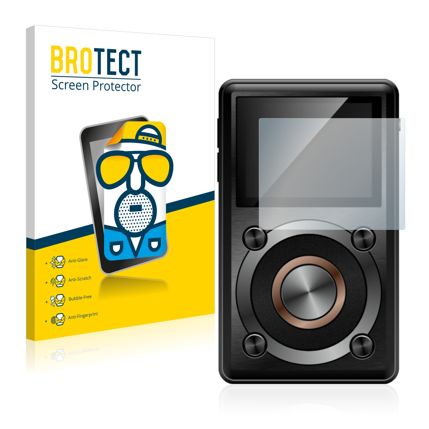 2x-BROTECT-Matte-Screen-Protector-for-FiiO-X1-Protection-Film