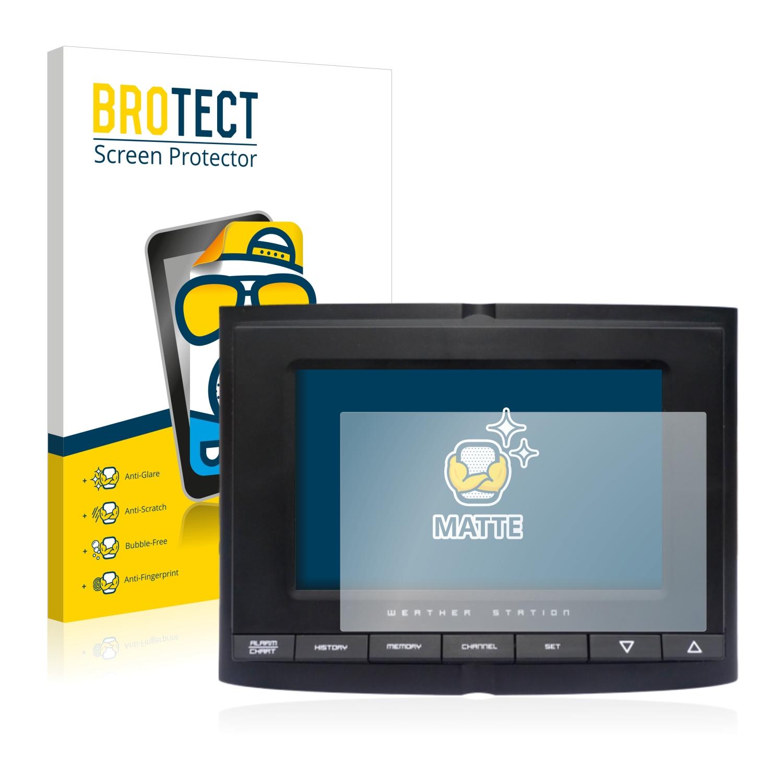 Matná ochranná fólie BROTECT pro Smartwares Wireless Weather Station SHS-45000EU, 2 ks