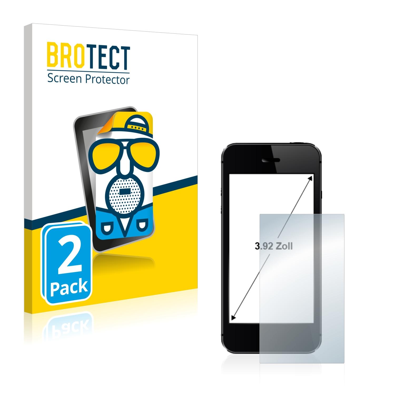 """Matná ochranná fólie BROTECT pro Telefon s displejem 3.9"""" palce [60.2 mm x 79.5 mm, 4:3], 2 ks"""