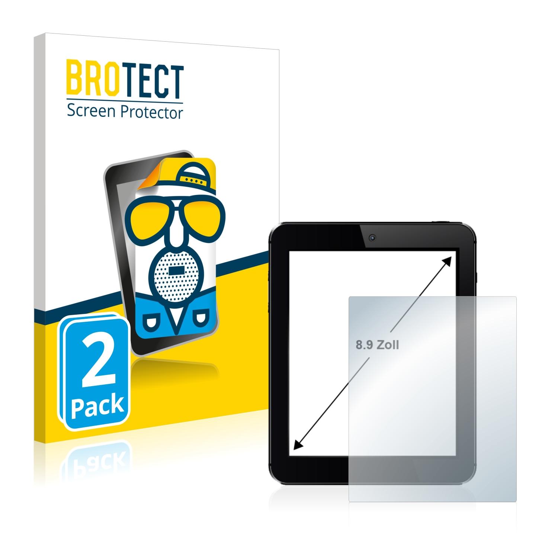 """Matná ochranná fólie BROTECT pro Tablet s obrazovkou 8.9"""" palce [196.8 mm x 110.6 mm, 16:9], 2 ks"""