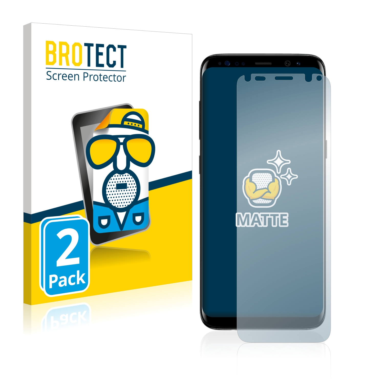 Matná ochranná fólie BROTECT pro Samsung Galaxy S8, 2 ks
