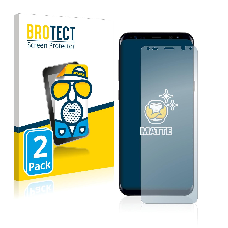 Matná ochranná fólie BROTECT pro Samsung Galaxy S8 Plus, 2 ks