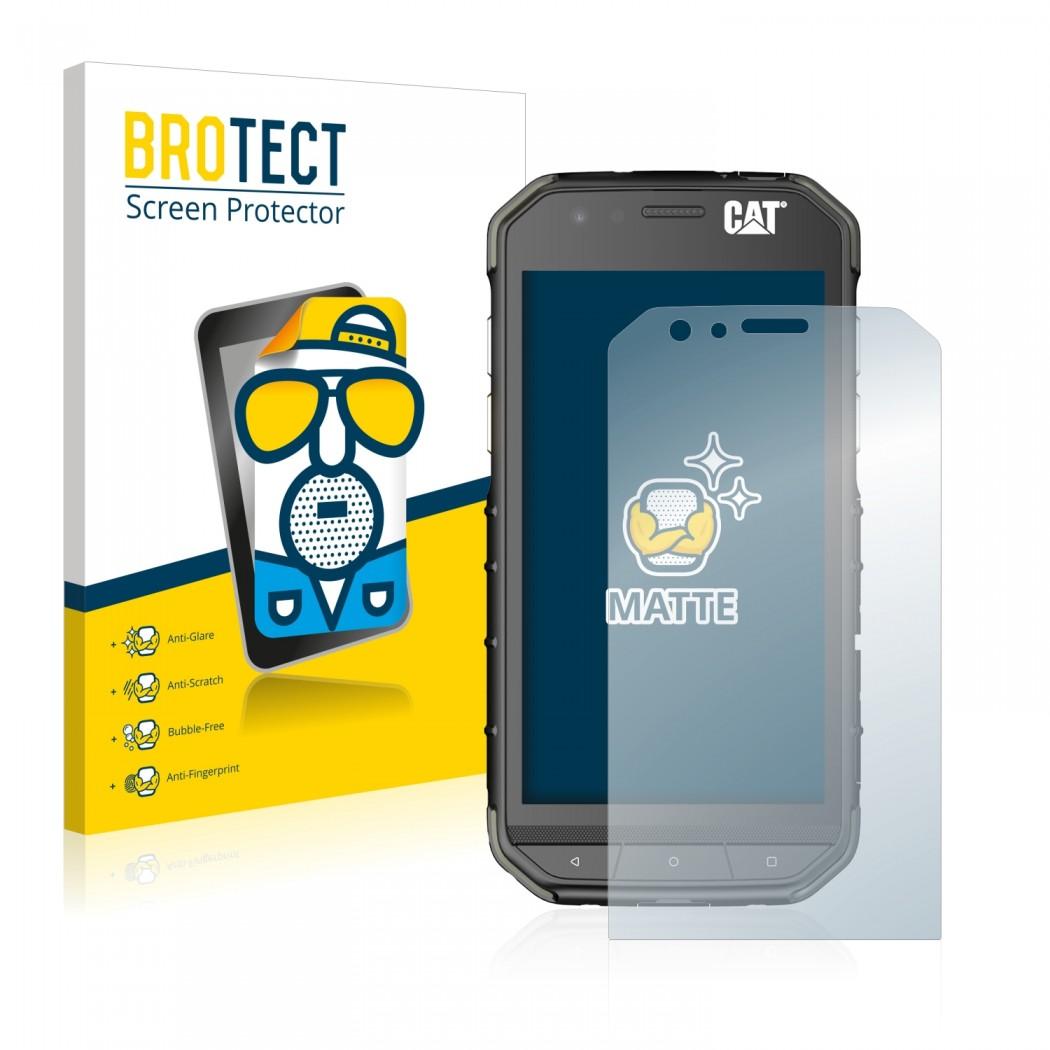 2x Brotect Matte Screen Protector For Caterpillar Cat S31