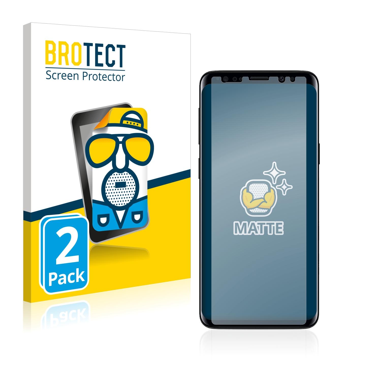 Matná ochranná fólie BROTECT pro Samsung Galaxy S9, 2 ks