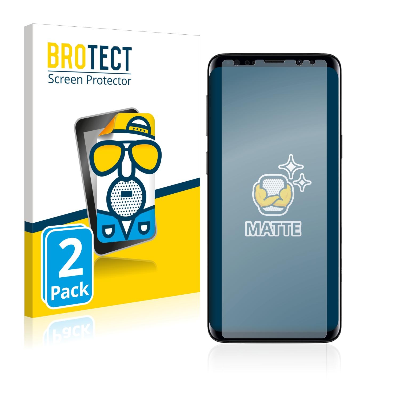 Matná ochranná fólie BROTECT pro Samsung Galaxy S9 Plus, 2 ks