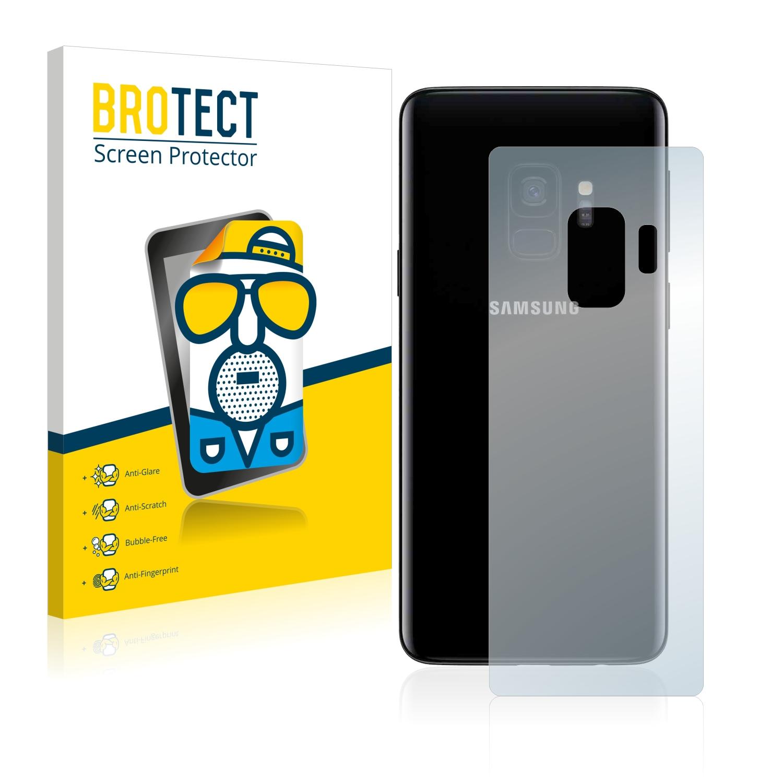 Matná ochranná fólie BROTECT pro Samsung Galaxy S9 (Zadní strana), 2 ks