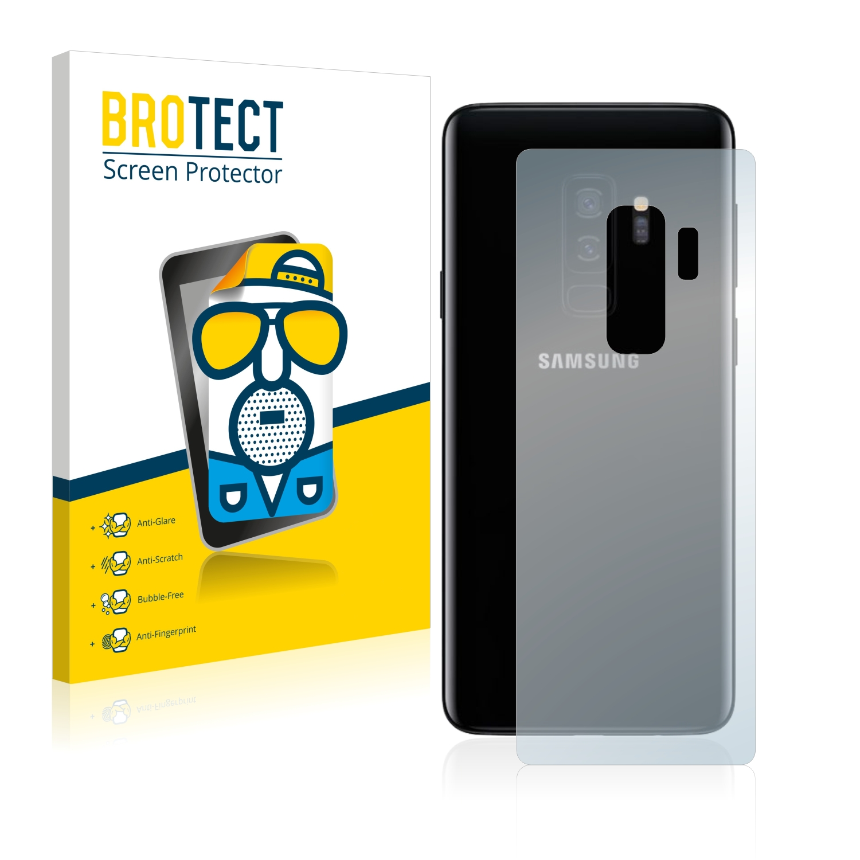 Matná ochranná fólie BROTECT pro Samsung Galaxy S9 Plus (Zadní strana), 2 ks
