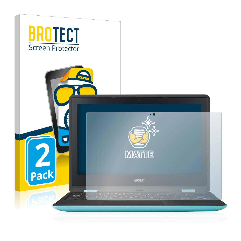 Matná ochranná fólie BROTECT pro Acer Spin 1 SP111-31, 2 ks