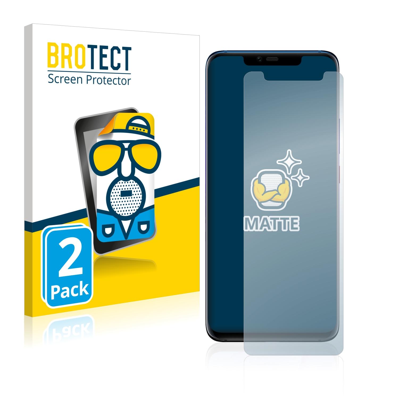 Matná ochranná fólie BROTECT pro Huawei Mate 20 Pro, 2 ks