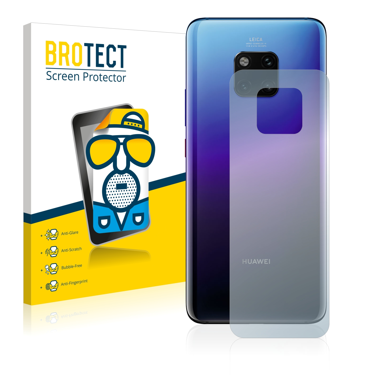 Matná ochranná fólie BROTECT pro Huawei Mate 20 Pro (Zadní strana), 2 ks