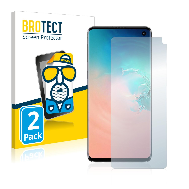 Matná ochranná fólie BROTECT pro Samsung Galaxy S10, 2 ks
