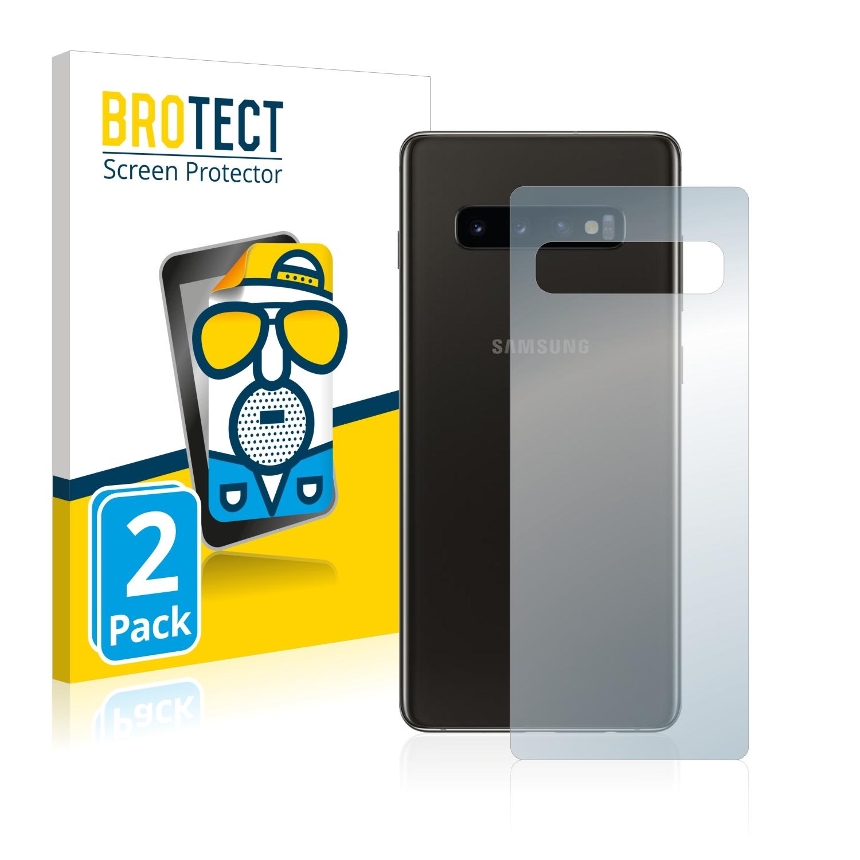 Matná ochranná fólie BROTECT pro Samsung Galaxy S10 (Zadní strana), 2 ks