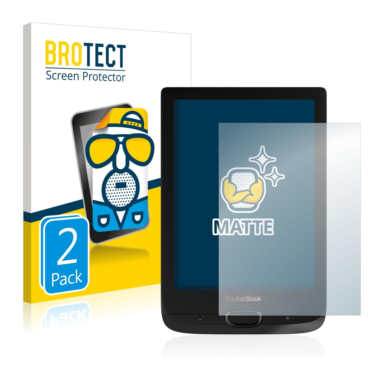 2x Pellicola Protettiva Display Opaca PocketBook Touch HD 2 Pellicola Protettiva Pellicola Display