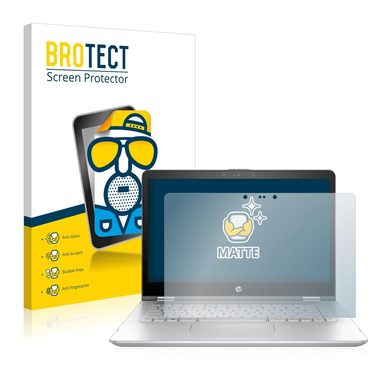 Anti-Reflet BROTECT Protection Ecran Mat pour HP Pavilion x360 14-cd0700ng