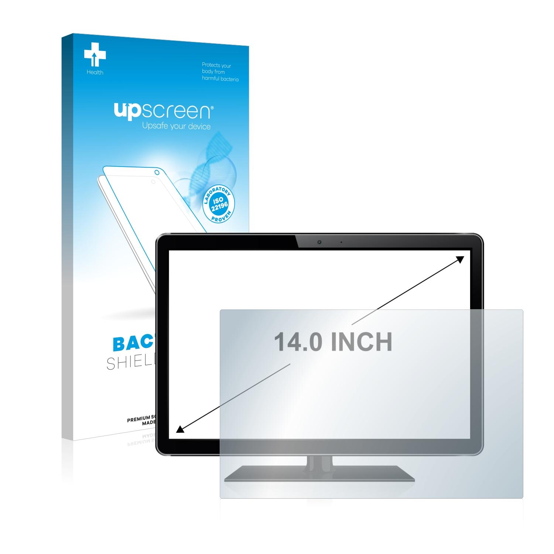 """Antibakteriální fólie upscreen Bacteria Shield pro Dotyková obrazovka 14"""" palců [310 mm x 175 mm, 16:9]"""