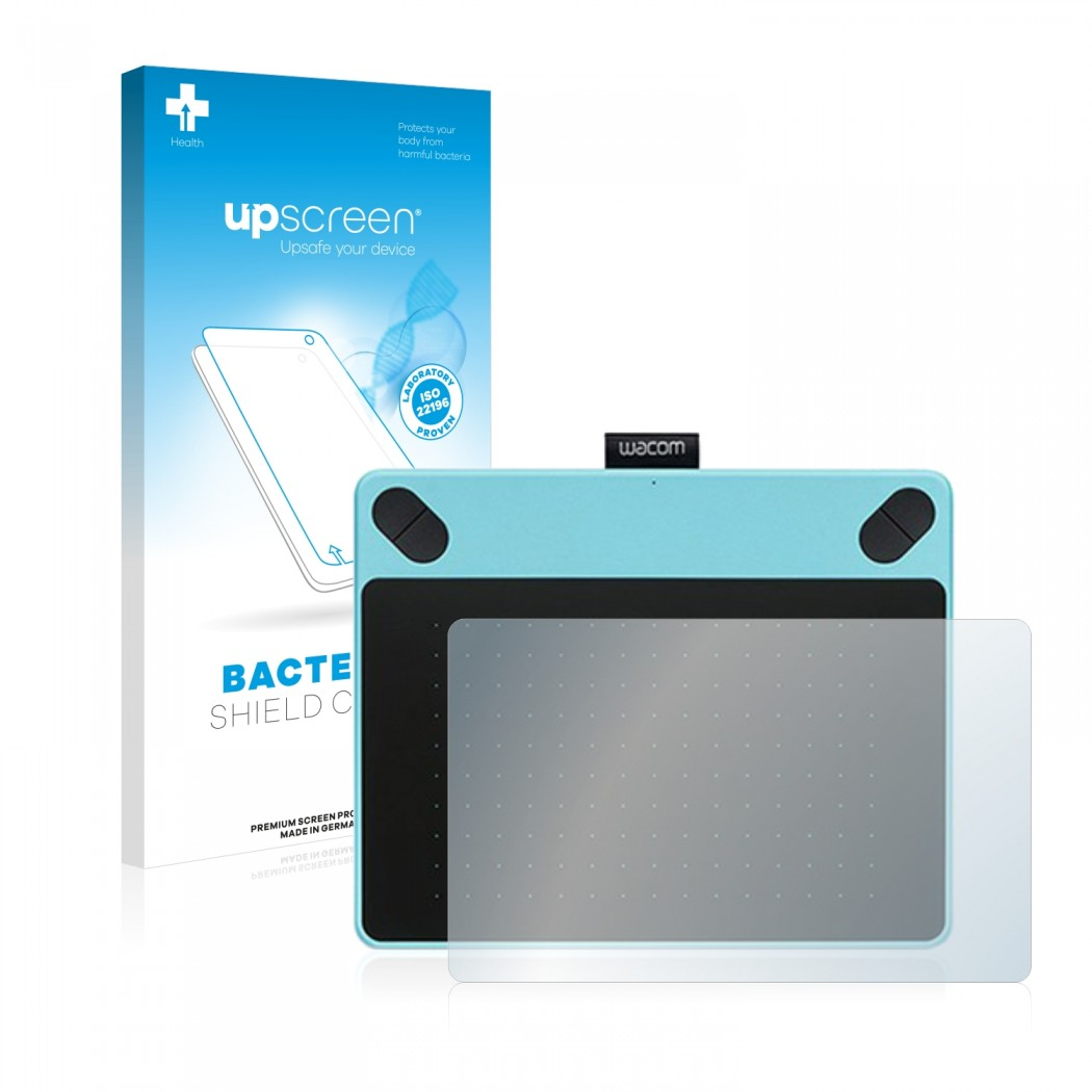 upscreen® Bacteria Shield Clear Protector for Wacom Intuos Comic