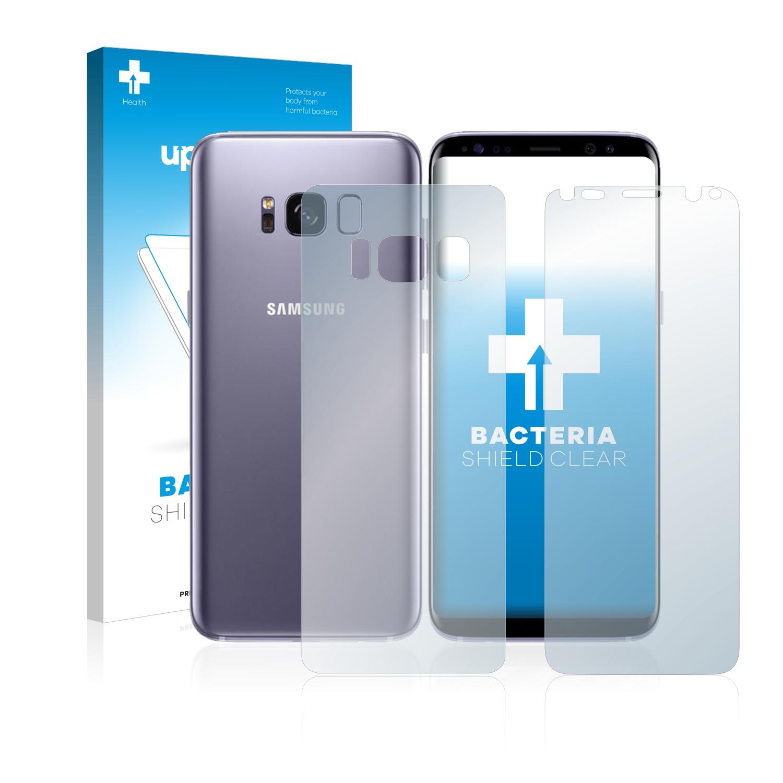 Antibakteriální fólie upscreen Bacteria Shield pro Samsung Galaxy S8 (Přední strana + Zadní strana)