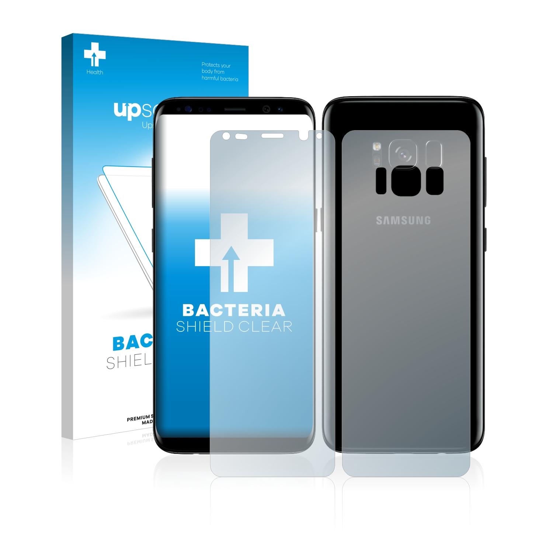 Antibakteriální fólie upscreen Bacteria Shield pro Samsung Galaxy S8 Plus (Přední strana + Zadní strana)