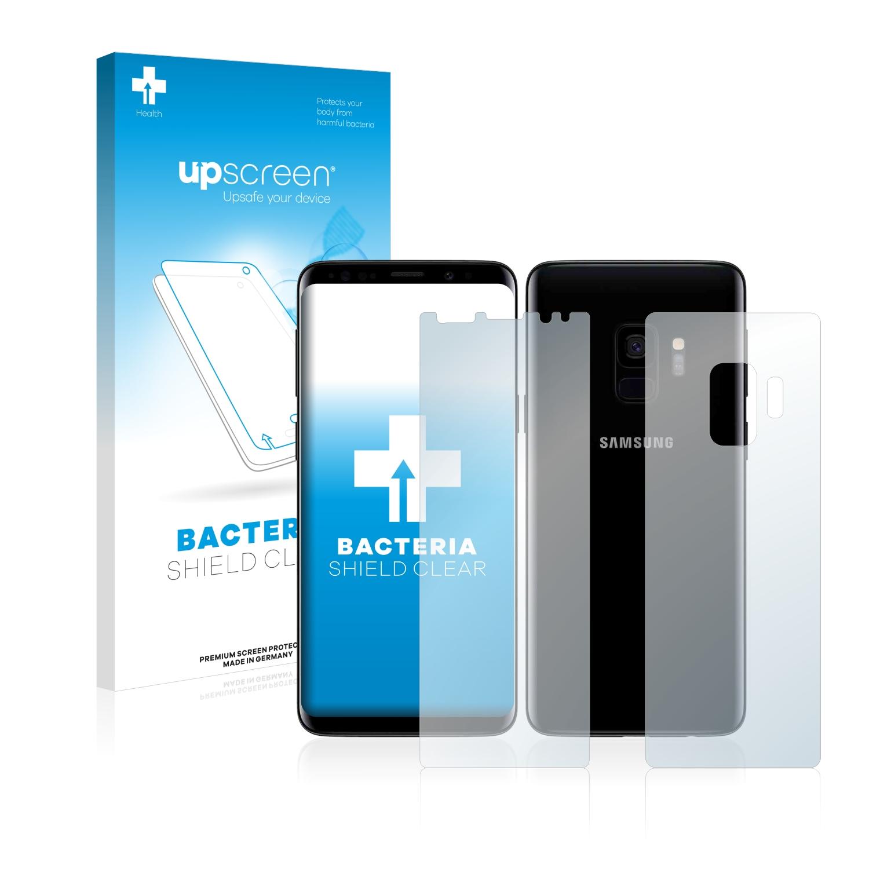 Antibakteriální fólie upscreen Bacteria Shield pro Samsung Galaxy S9 (Přední strana + Zadní strana)